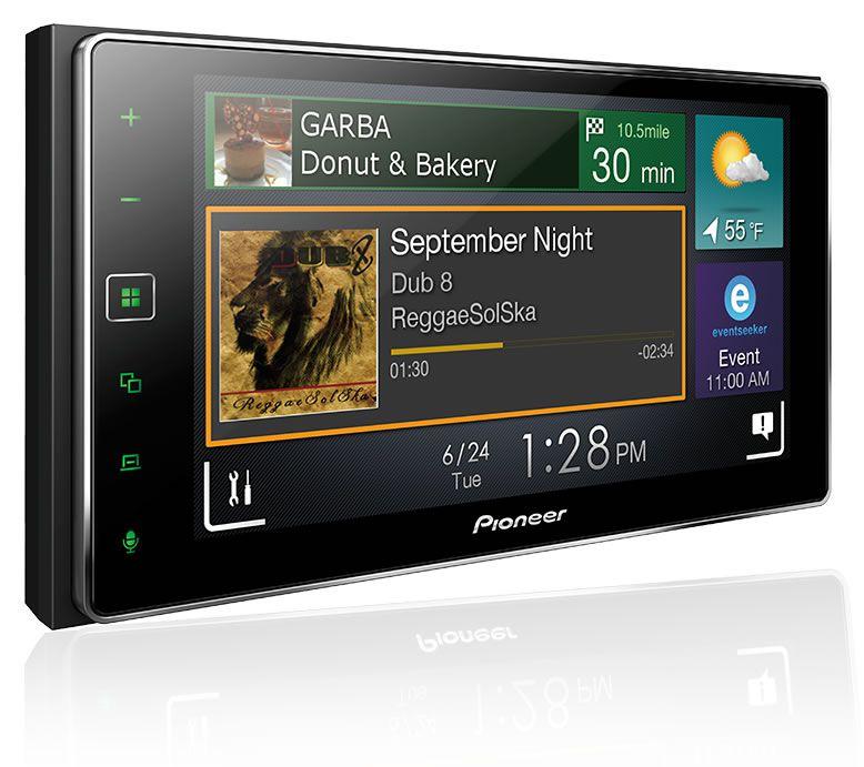 Kit Combo DVD Pioneer SPH-DA138TV + Moldura de Painel 2 Din + Chicote C/ Adaptador de Antena + Interface + Câmera de Ré Toyota Corolla GLI 2017 2018