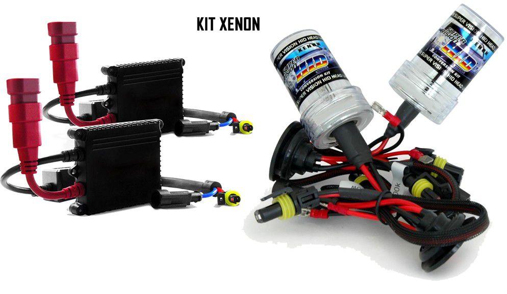 Kit Farol de Milha Neblina Chevrolet Novo Corsa 2002 à 2012 Montana 2003 à 2011 + Kit Xenon 6000K 8000K ou Kit Lâmpada LED