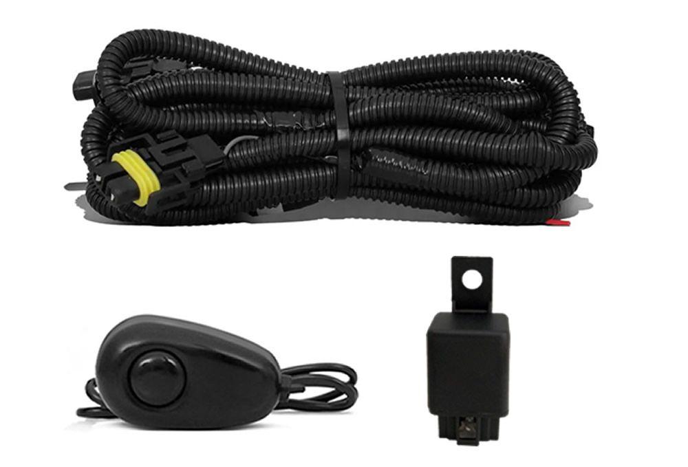 Kit Farol de Milha Neblina Citroen C3 2009 2010 2011 2012 - Interruptor Alternativo