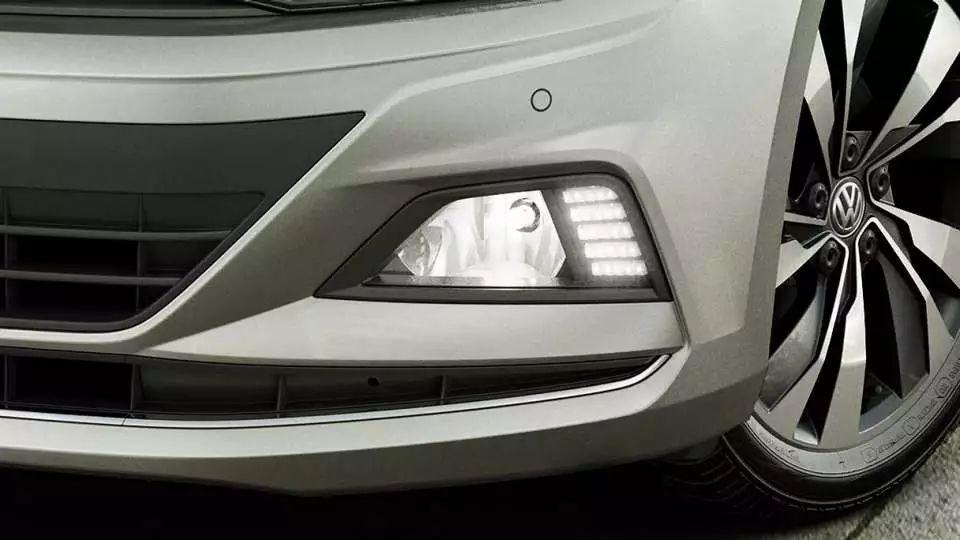 Kit Farol de Milha Neblina Vw Virtus e Novo Polo 2018 2019 Com LED Daylight - DRL