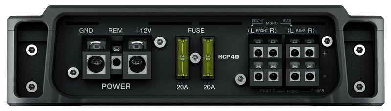 Módulo Amplificador Hertz HCP 4 380w Rms 4 Canais - Classe AB