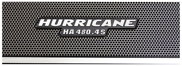 Módulo Amplificador Hurricane HA 480.4S 1920W RMS 4 Canais 2 Ohms RCA