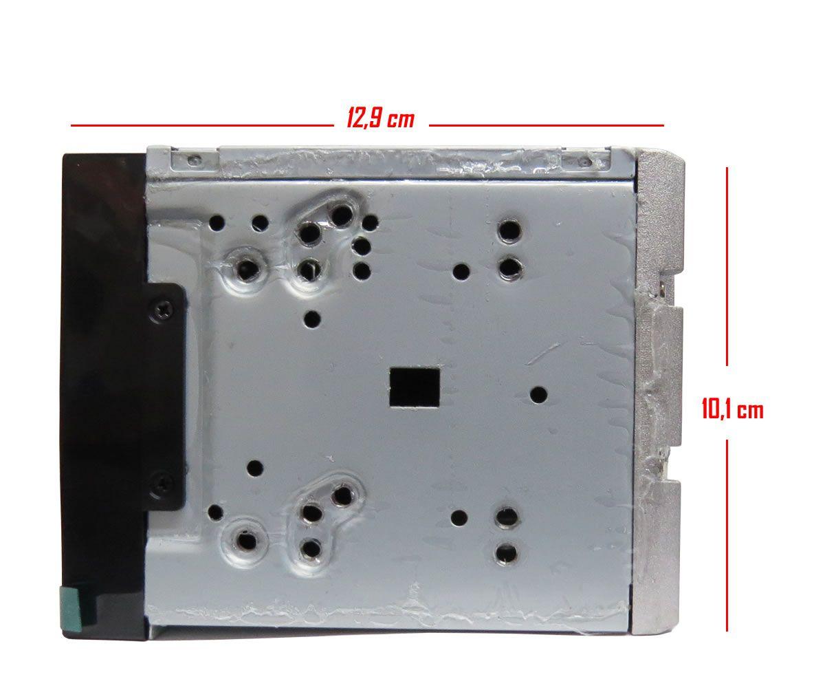 Multimídia MP5 H-Tech TV Digital Integrado Espelhamento Android IOS Bluetooth + Câmera de Ré