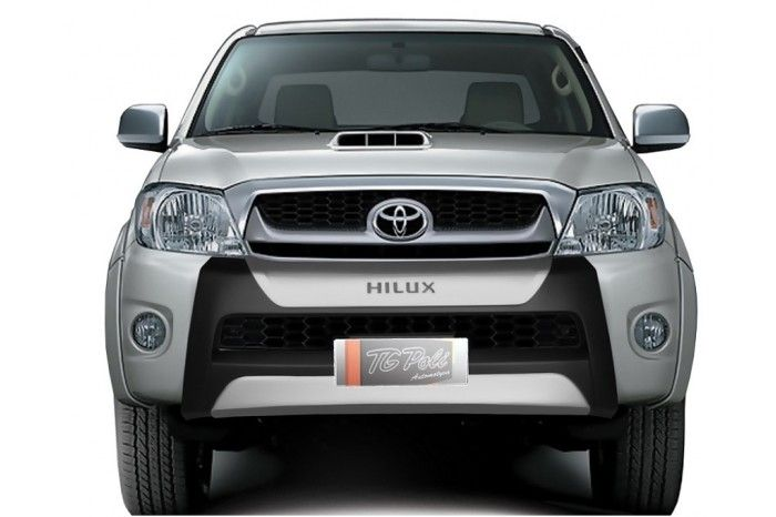 Overbumper Protetor Frontal Toyota Hilux Cabine Dupla 2009 2010 2011