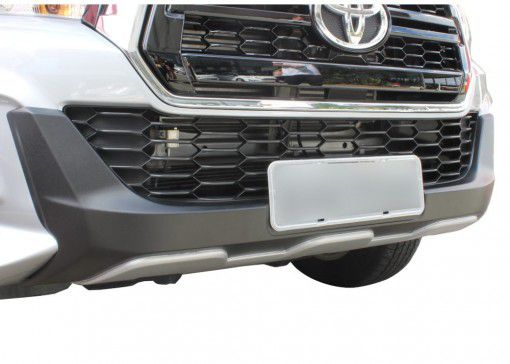Overbumper Protetor Frontal Toyota Hilux Cabine Dupla 2019 2020
