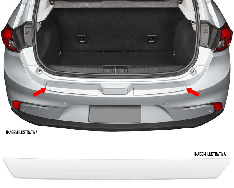 Protetor de Porta Malas Incolor Fiat Argo Adesivo