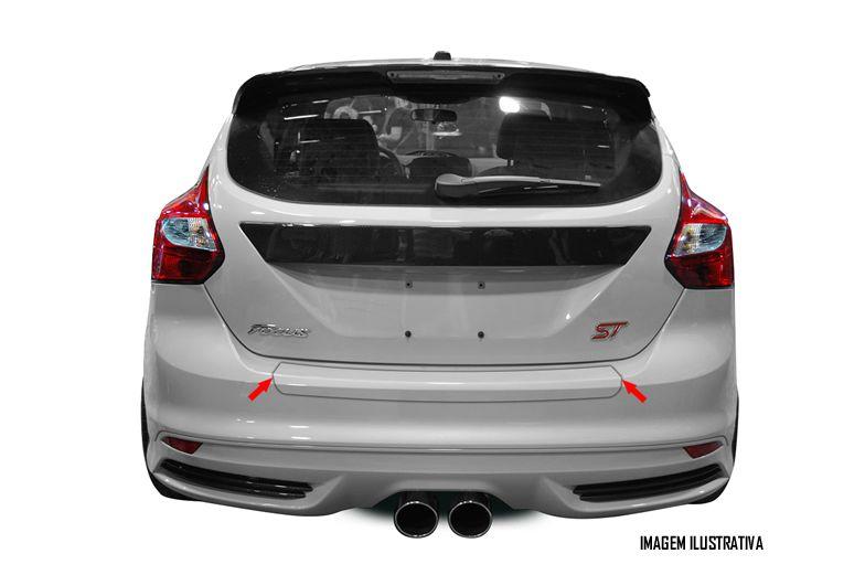 Protetor de Porta Malas Incolor Ford Focus Hatch 2014 2015 2016 2017 2018 Adesivo