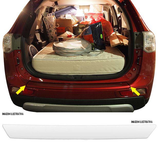 Protetor De Porta Malas Incolor Mitsubishi Outlander 2014 2015 Adesivo