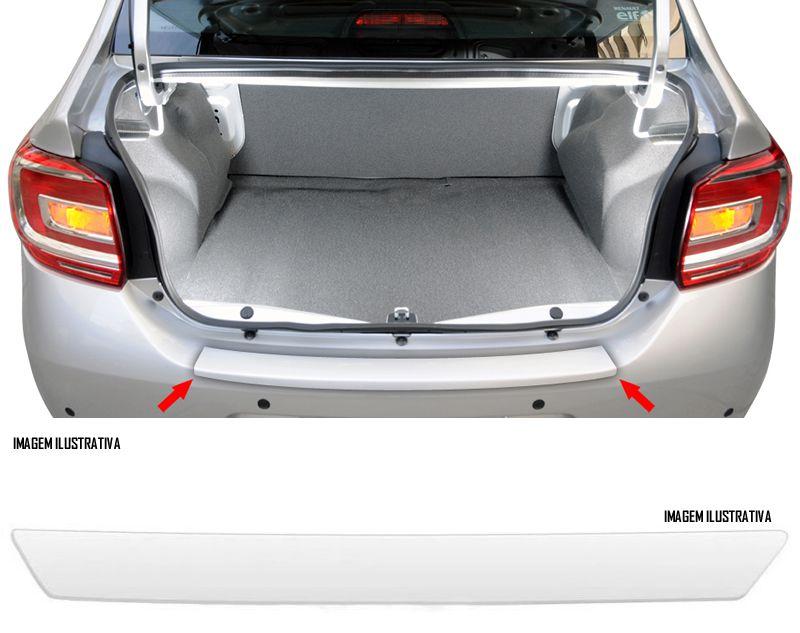 Protetor De Porta Malas Incolor Renault Novo Logan 2014 2015 2016 2017 2018 Adesivo