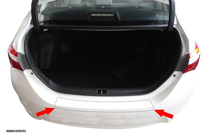 Protetor De Porta Malas Incolor Toyota Corolla 2014 2015 2016 2017 2018 Adesivo