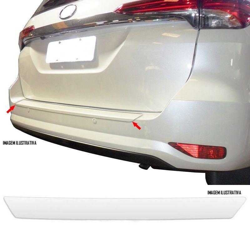 Protetor De Porta Malas Incolor Toyota SW4 2006 À 2018 Adesivo