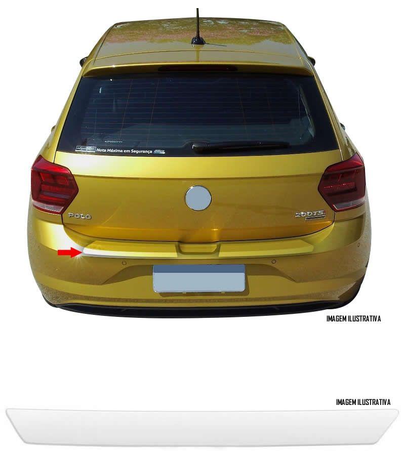 Protetor de Porta Malas Incolor Volkswagen Novo Polo 2018 Adesivo