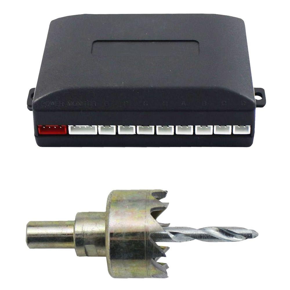 Sensor de Estacionamento 8 Pontos Dianteiro e Traseiro