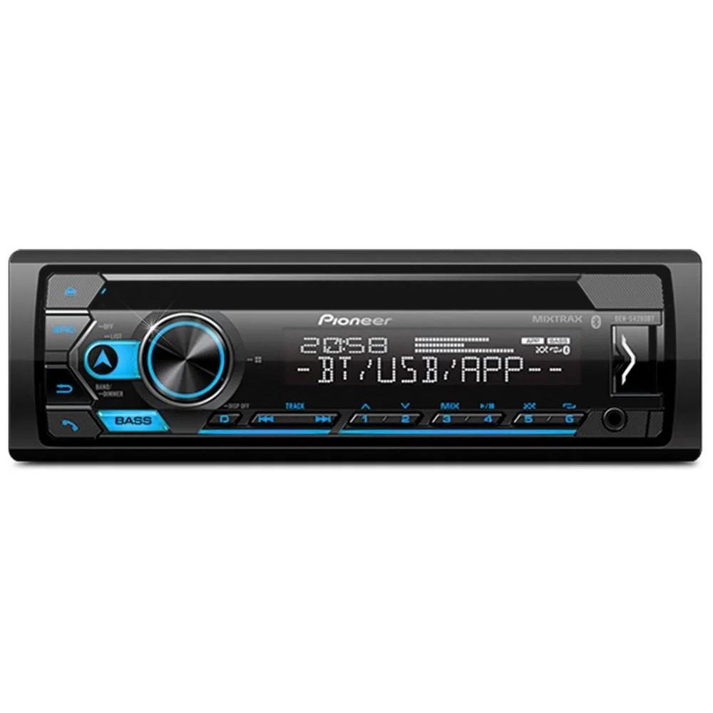 Som Automotivo CD Player Pioneer DEH-S4280BT Bluetooth Entrada Auxiliar e USB