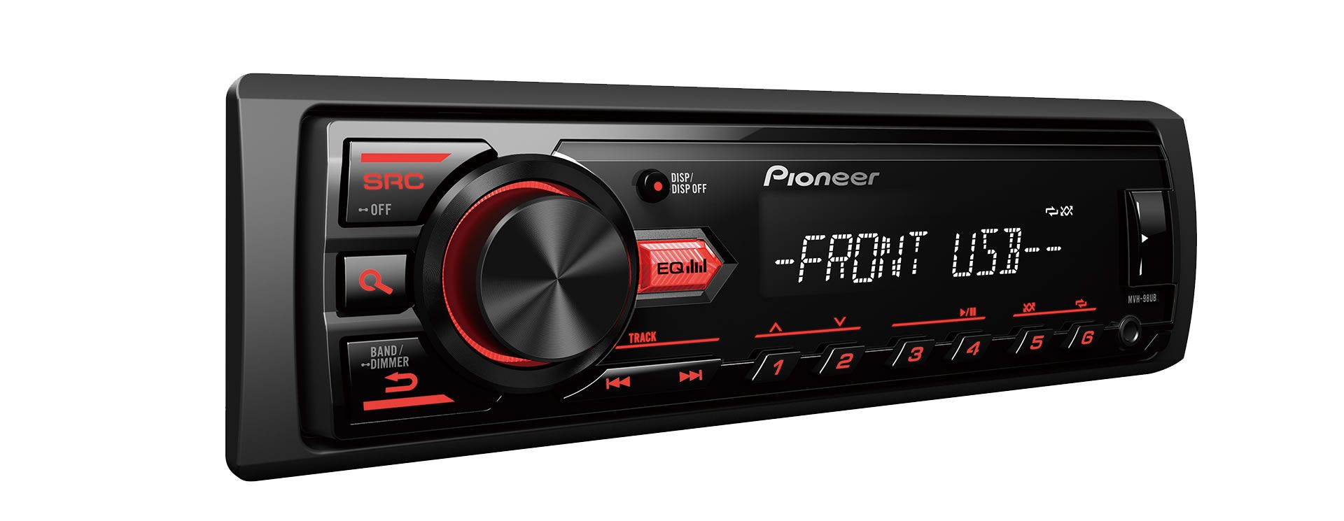 Som Automotivo Media Receiver Pioneer MVH-98UB Com Mp3, Entrada USB