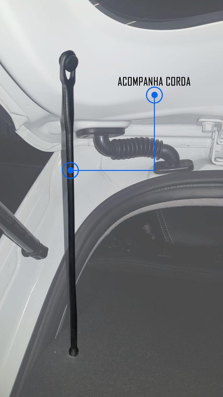 Tampão Porta Malas Hyundai Creta PCD