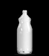 Garrafa de Suco 1000 ml Redonda - Boca Pequena (caixa c/ 12)