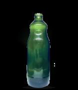 Garrafa de Suco 1500 ml Verde Boca Larga (caixa c/ 12)