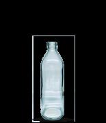 Garrafa Quadrada 500 ml (caixa c/ 24)
