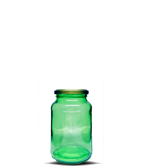 Conserva 600 ml Verde (caixa c/ 15)
