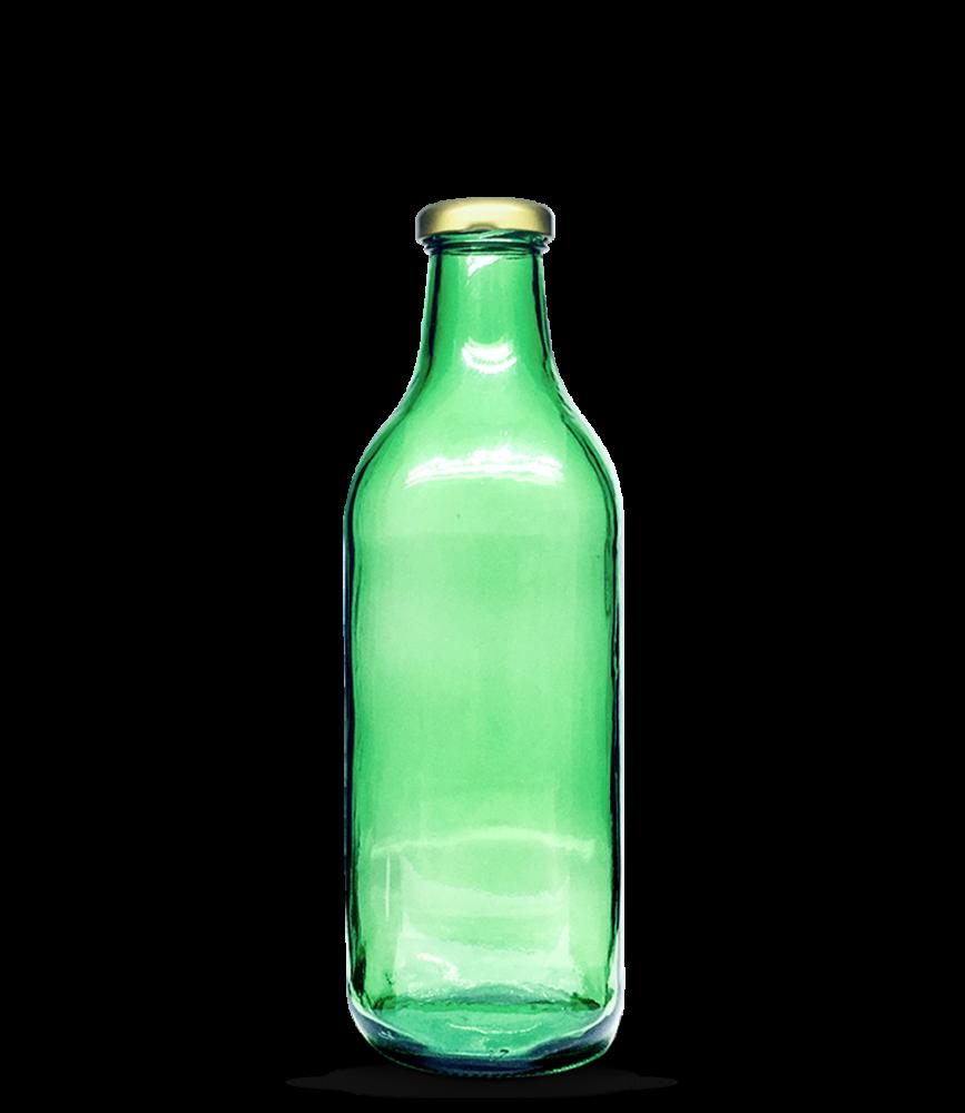Garrafa de Suco Verde 1000 ml Quadrada (caixa c/ 12)