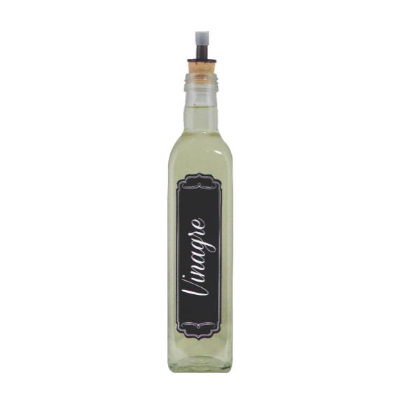 kit Galheteiros 500ml Linha Black - Azeite/Pimenta/Vinagre
