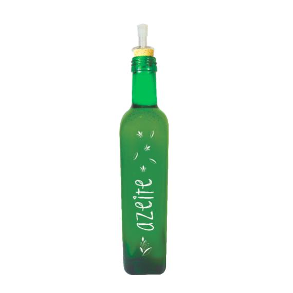 kit Galheteiros 500ml Linha Grafite - Azeite/Pimenta/Vinagre
