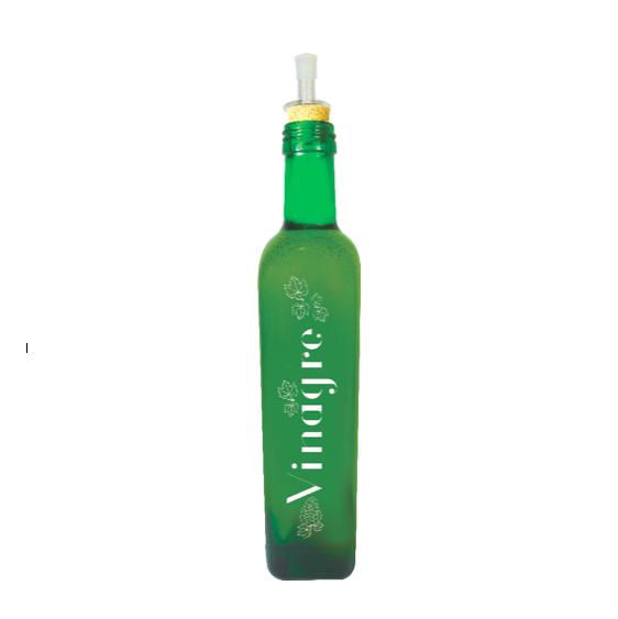 Kit Galheteiros 500ml Linha Mix - Azeite/Pimenta/Vinagre
