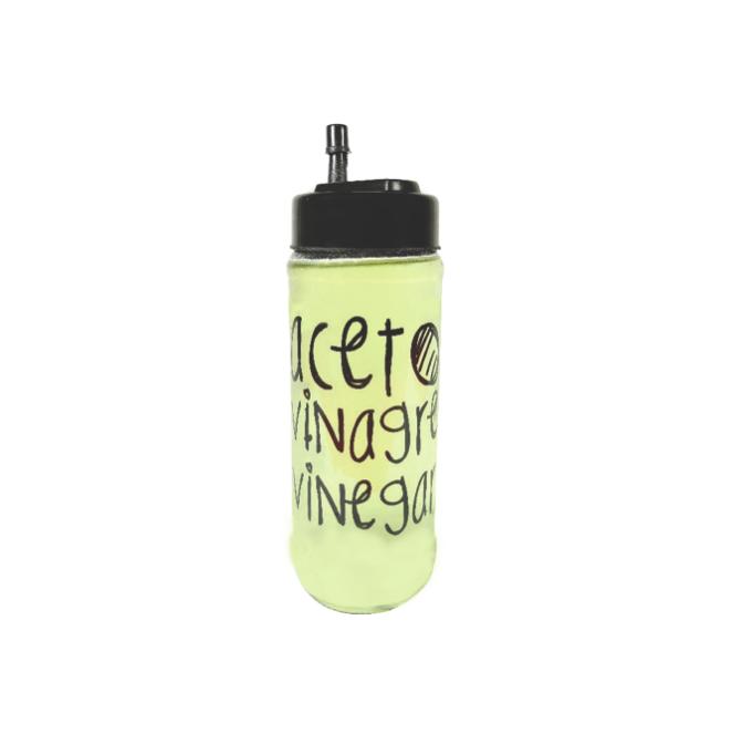 Kit Potes 350ml Linha Grafite - Azeite/Pimenta/Vinagre