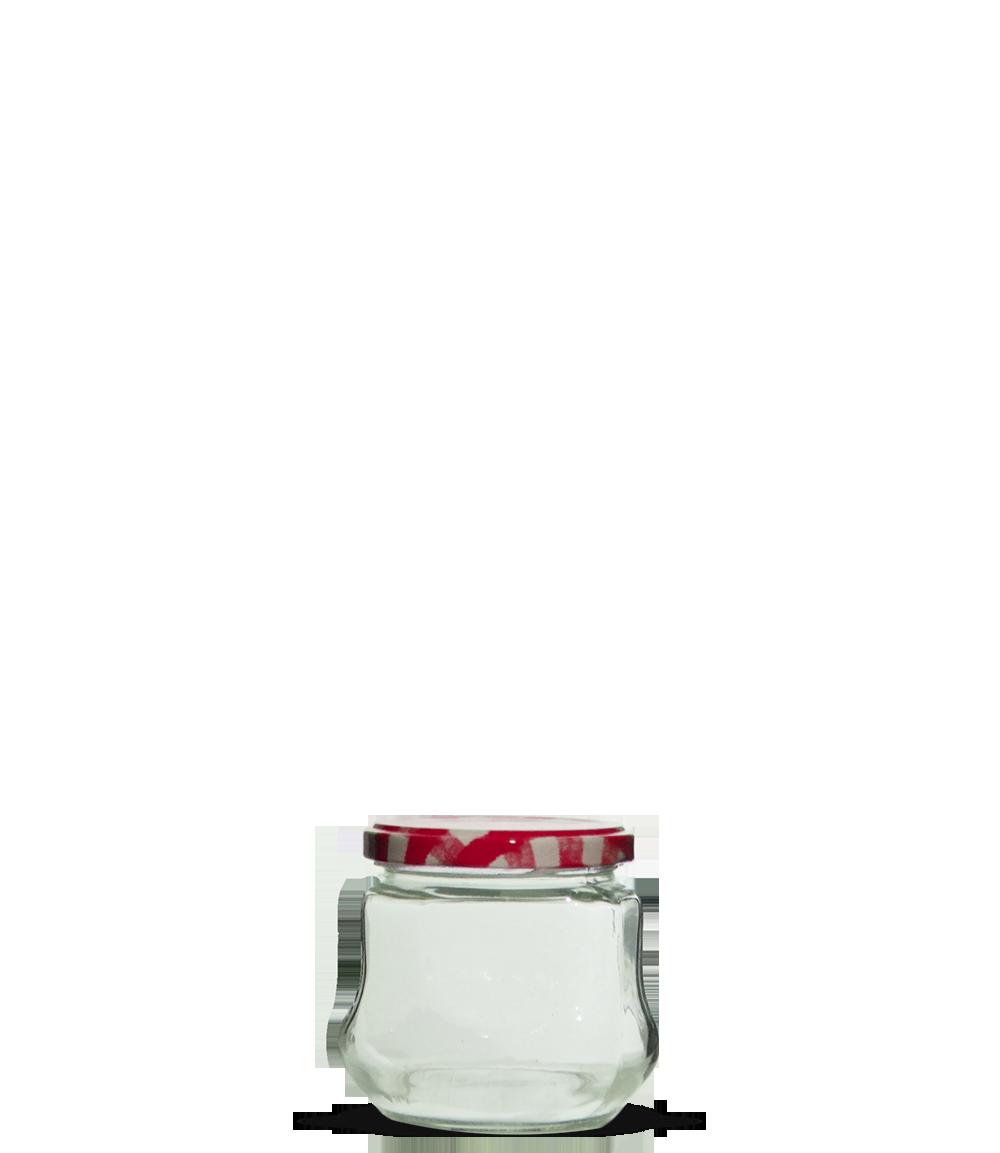 Pote Geleia Oitavado 250 ml (caixa c/ 20)