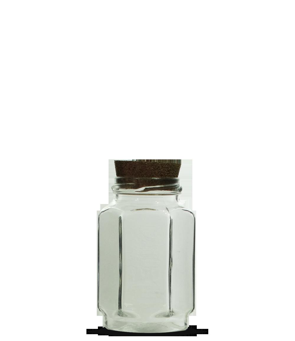 Pote Geleia Sextavado 377 ml (caixa c/ 24)