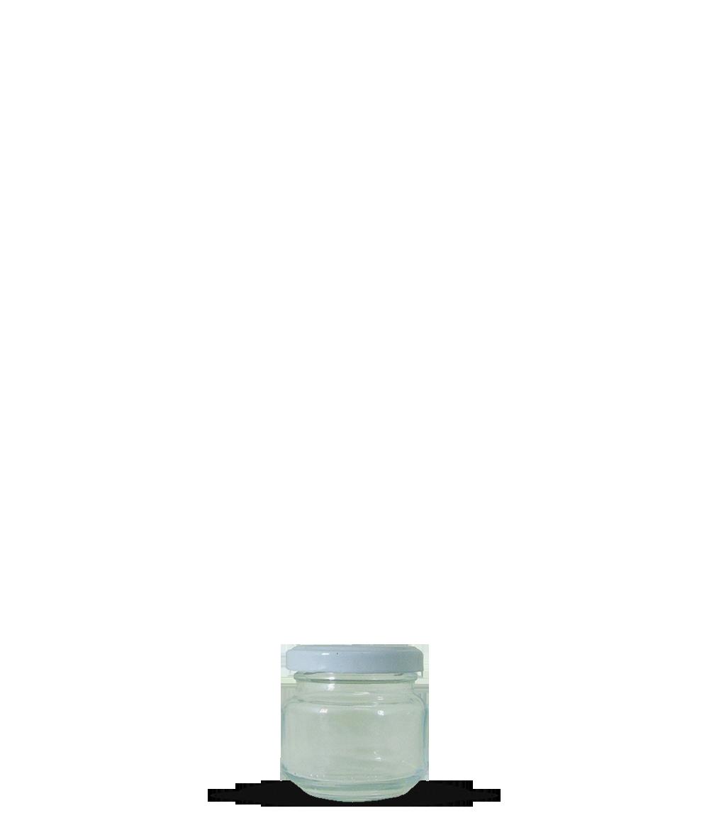 Pote Papinha 120 ml Tampa Metálica (caixa c/ 24)