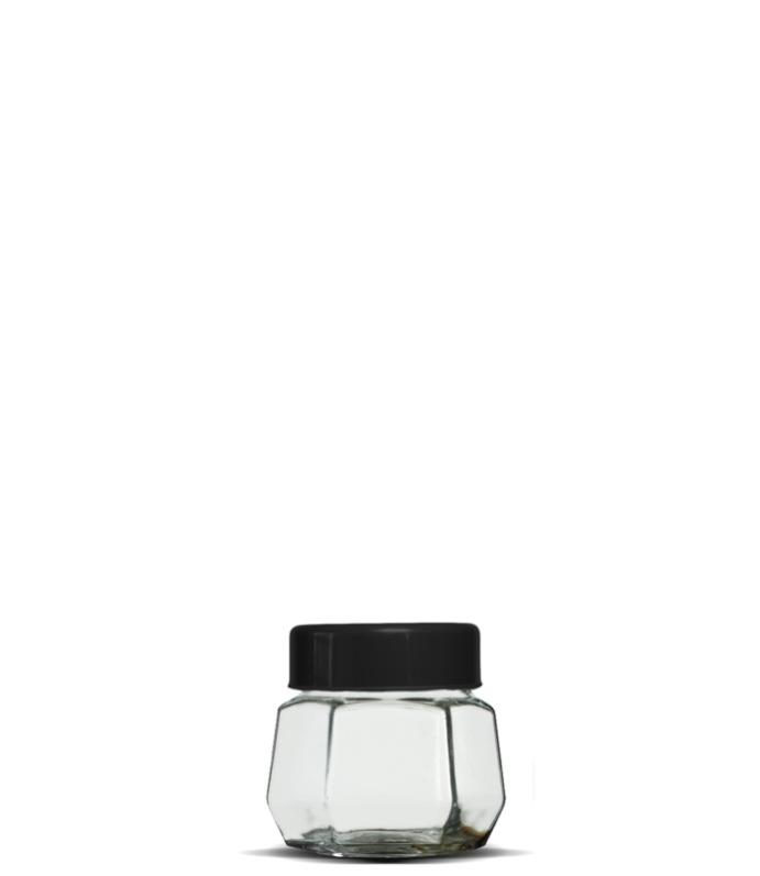 Pote Sextavado 230 ml (caixa c/ 24)