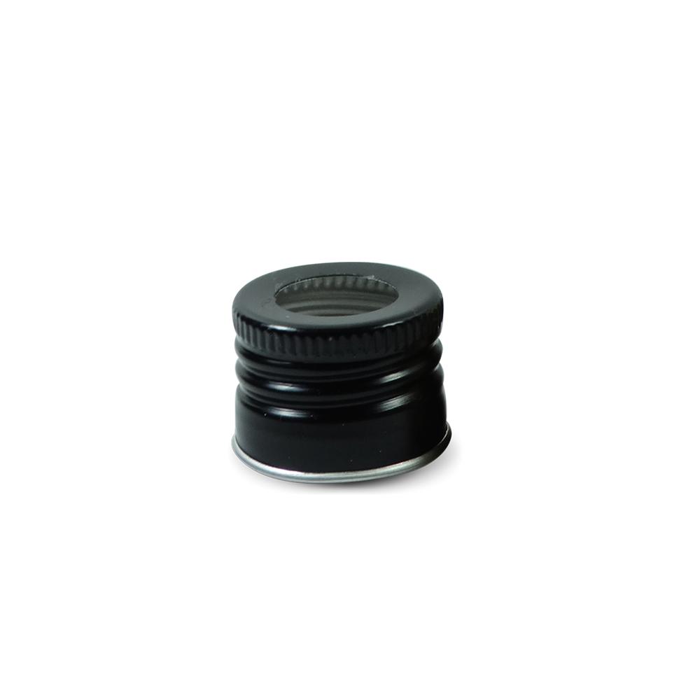 Tampa Metálica - 24 mm c/ furo (caixa c/ 15)