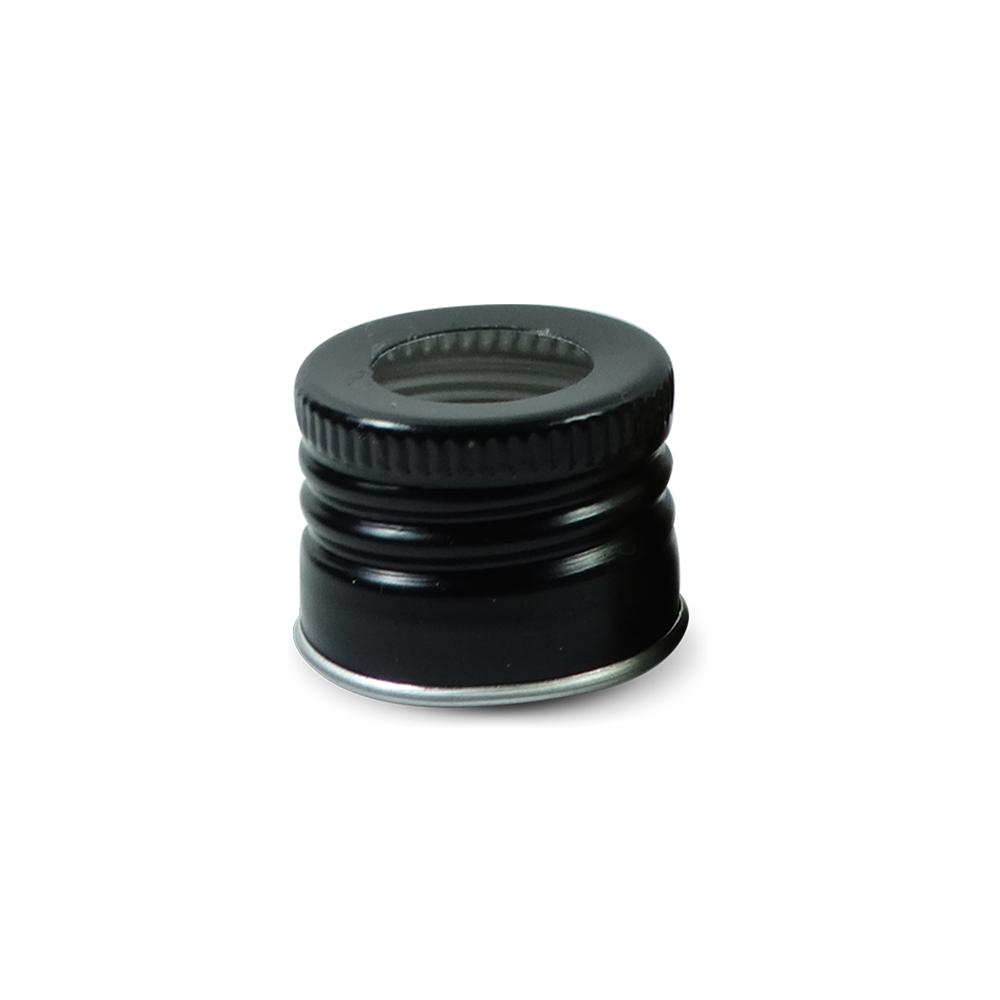 Tampa Metálica - 28 mm c/ furo (caixa c/ 12)