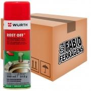 Caixa De Desengripante Rost Off Lubrificante Spray Wurth De 300ml - 6 Peças