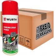 Caixa De Vaselina Spray W-max Wurth De 200ml - 6 Peças