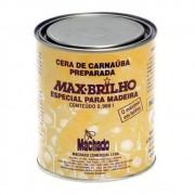 Cera de Carnaúba Max Brilho MOGNO De 900ml