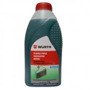 Fluido Para Radiador Proteção Arrefecimento Verde Azulado Diesel W- Max Wurth