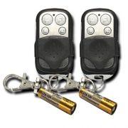 Kit 2 Peças - Controle Remoto Copiador Clone Alarme Duplicador Portão