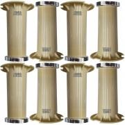 Kit 8 - Pé Marfim Para Móveis De Aço Itatiaia De 16 a 18cm Com Regulagem Genuíno