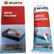 Polidor Metais Polisher De 100 Gramas Wurth Ideal Para Metal Alumínio E Cromado