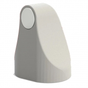 Prendedor Fixador Trava Portas Magnético Adesivo Branco