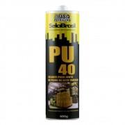 Selante Cola Pu 40 Preto 400 Gramas