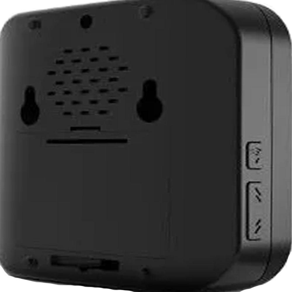 Campainha Preta Wireless Sem Fio A Pilha Casa / Empresa