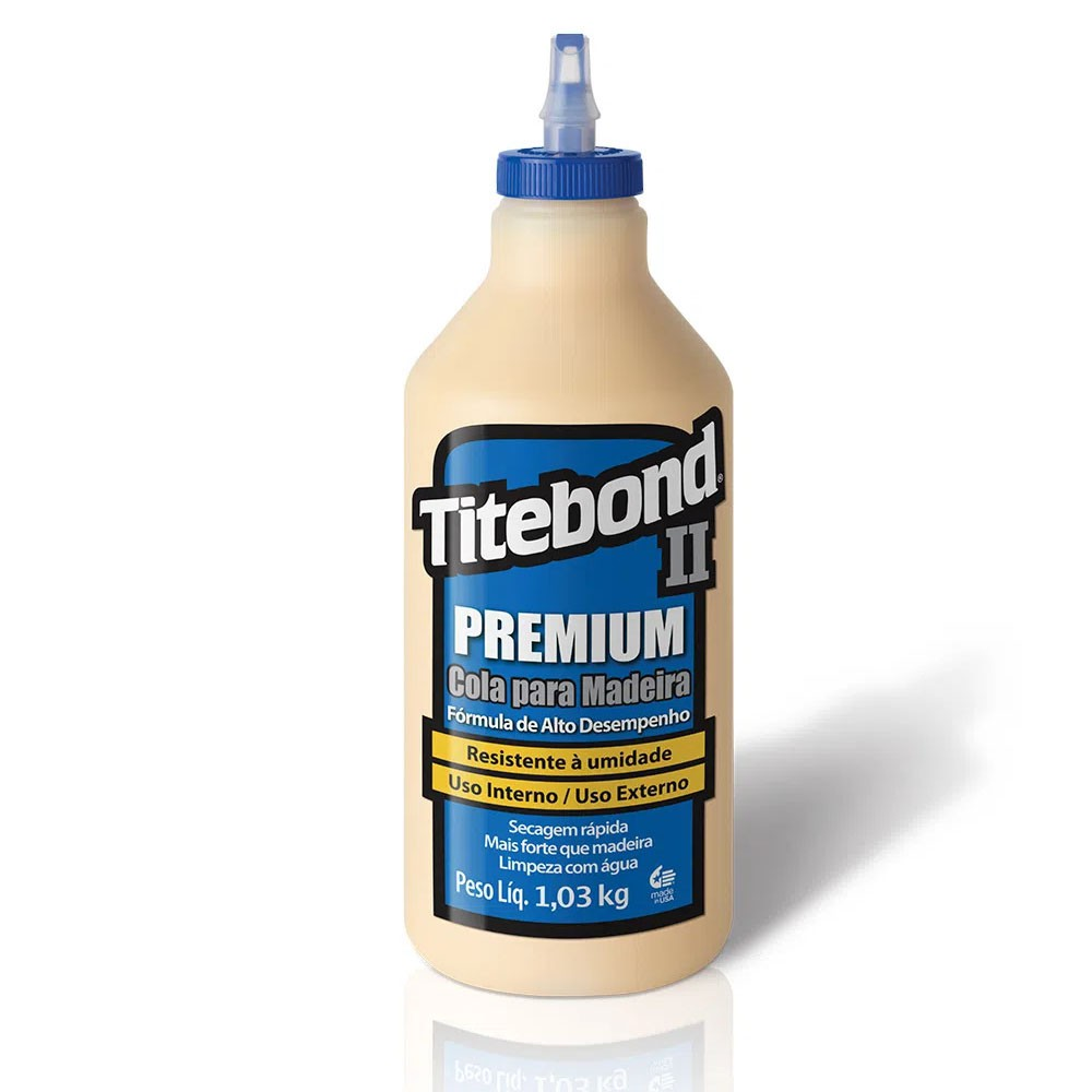 Cola para Madeira II Premium Wood Glue Titebond 946 ml