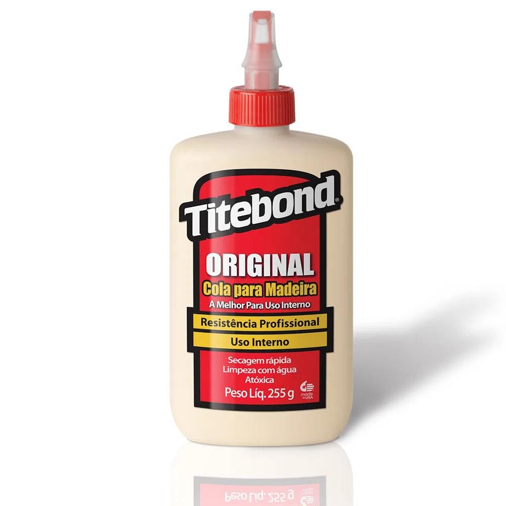 Cola para Madeira Original Wood Glue Titebond 237 ml