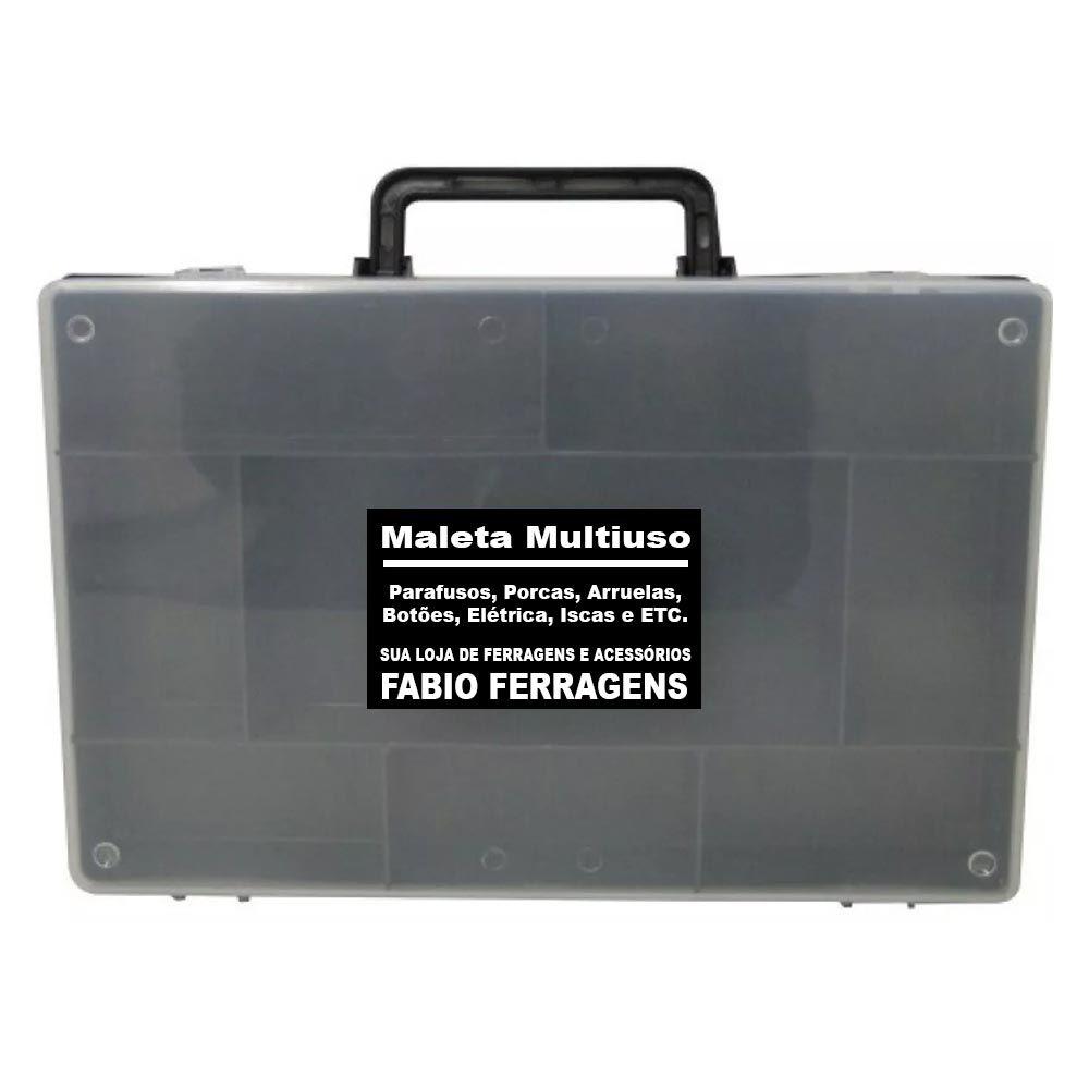 Caixa Maleta Organizadora Pesca, Parafuso, Broca, Bucha, Botão, Eletrica, Etc