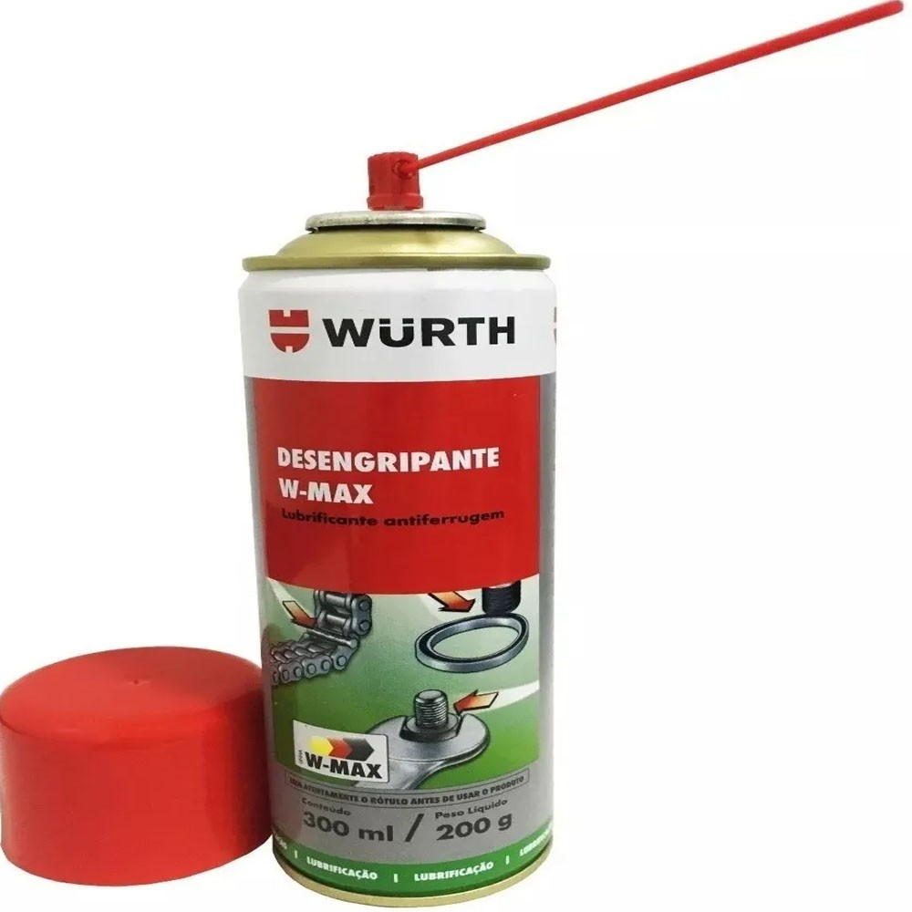 Desengripante Lubrificante Spray W-max Wurth - 300ml