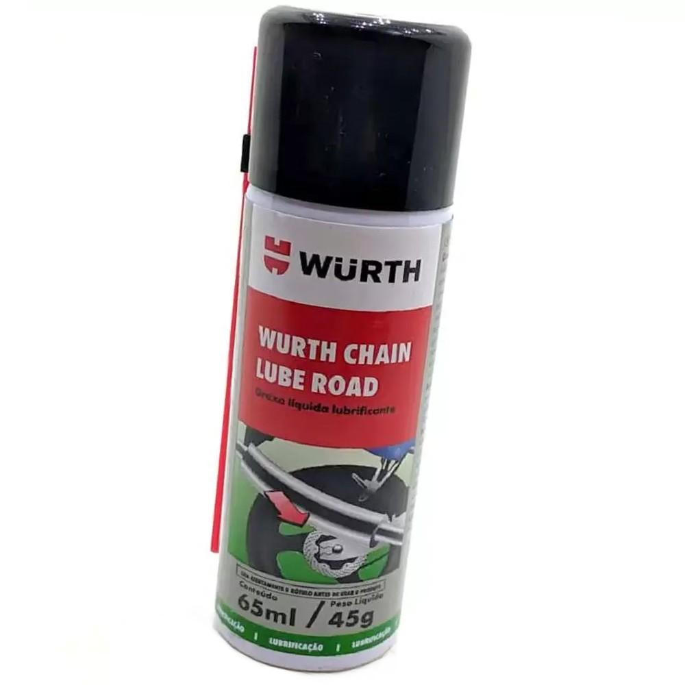 Graxa Spray Líquida Lubrificante Chain Lube Road 65ml - Wurth